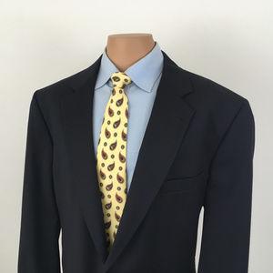 Jos A Bank Gordon Signature Suit Jacket Navy Blue